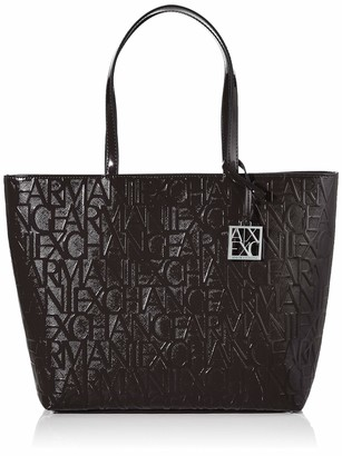 Armani Exchange A|X Medium Open Shopping Bag