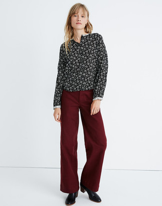 Madewell Print-Mix Meadow Shirt in Branch Floral