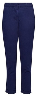 Dorothy Perkins Womens Navy Chino Trousers