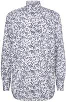 Paul & Shark Poplin Floral Shirt, White, EU 44
