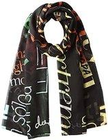 Desigual Women's FOULARD_RECTANGLE HERITATGE collar_type Shawl,(Manufacturer size: )