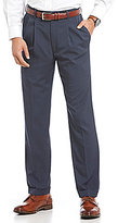 Roundtree & Yorke Big & Tall Double Pleated Travel Smart Non-Iron Stretch GAB Pant