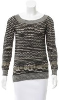 M Missoni Patterned Knit Swearter