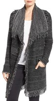 NYDJ Fringed Sweater Jacket (Regular & Petite)