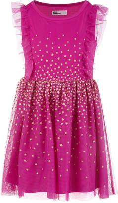 Epic Threads Toddler Girls Glitter Stars Mesh Dress