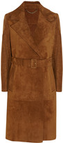 Burberry Fringed suede trench coat