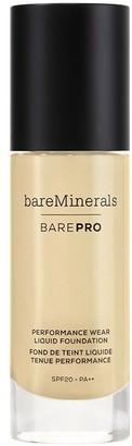 bareMinerals Barepro 24-Hour Full Coverage Liquid Foundation Spf20 30Ml 09 Light Neutral (Light, Neutral/Warm)