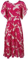 N°21 N.21 Bird Print Tea Dress