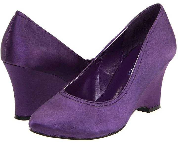 Bouquets Caelyn (Plum) - Footwear