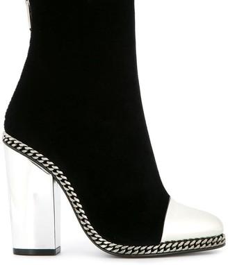 Balmain Dax ankle boots