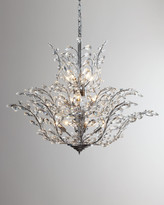 Horchow Upside Down 18-Light Crystal Chandelier