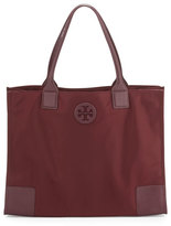 Tory Burch Ella Packable Nylon Tote Bag, Port