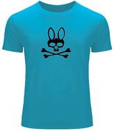 Psycho Bunny 2016 For Men Printed Short Sleeve Tee T-shirt