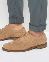 Vagabond Salvatore Oxford Suede Brogue Shoes