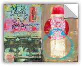Art Wall 0ray052a1418p Elana Ray's Art Journal Let Go Art Appeelz Removable Graphic Wall Art,-Inch