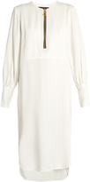 Ellery Fosse blouson-sleeved satin dress