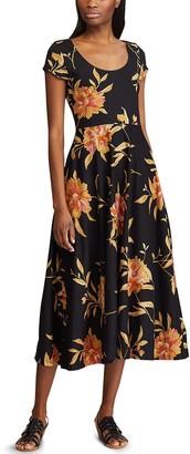 Chaps Women's Midi Dress