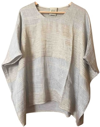 Jijil Beige Top for Women