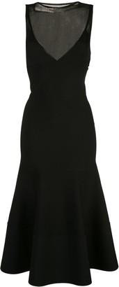 Proenza Schouler Matte Turtleneck Sleeveless Knit Dress