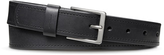 Shinola Men's Harness Single-Stitch Leather Belt