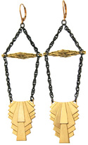 Louise Manna Egyptian Pillar Earrings