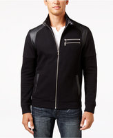 INC International Concepts Men's Fire Knit Moto Jacket, Only at Macy's