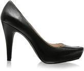 Bertie Square Toe Enclosed Platform Stitch Detail Shoe