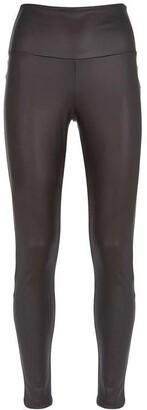 Mint Velvet Black Faux Leather Leggings