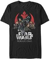 Star Wars Men's Rogue One Classic Rebellion T-Shirt
