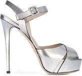 Le Silla platform stiletto sandals - women - Leather - 39