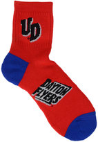 For Bare Feet Dayton Flyers Ankle TC 501 Socks