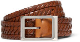 Brunello Cucinelli - 3cm Woven Leather Belt