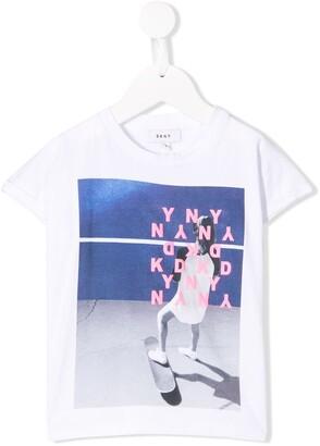 DKNY photo print T-shirt