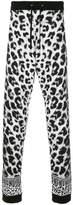 Versus leopard-print track pants