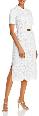 Tory Burch Eyelet Lace Polo Dress