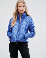Vero Moda Wind Jacket In Moonbeam In Blue