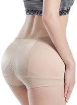Burvogue Women's Butt Enhancer Buttock lifter Boyshort Padded Control Panties L