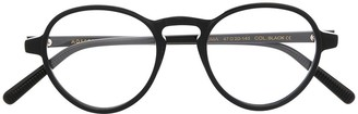 MOSCOT Round-Frame Clear Glasses