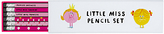 Mr Men & Little Miss Mr Men Little Miss Princess Boxed Pencils, Pack of 6