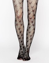 Leg Avenue Micro Net Star Tights