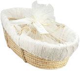 Swankie Blankie Moses Basket, Ivory
