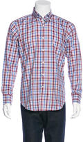 Peter Millar Plaid Woven Shirt w/ Tags
