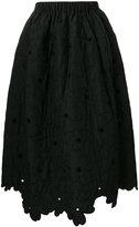 Simone Rocha floral padded skirt