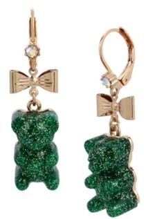 Betsey Johnson Festive Gummy Bear Drop Earrings