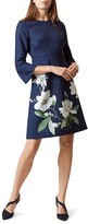 Hobbs London Magnolia Print Dress