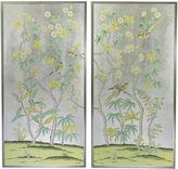 Simon Paul Scott Jardins en Fleur, Birch/Magnolias