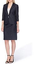 Tahari ASL Denim Skirt Suit