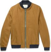 Oliver Spencer Bermondsey Linen Bomber Jacket