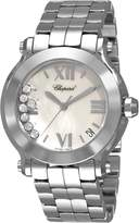 Chopard Women's 278477-3002 Happy Sport Dial Watch