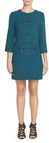Cynthia Steffe Embroidered Shift Dress